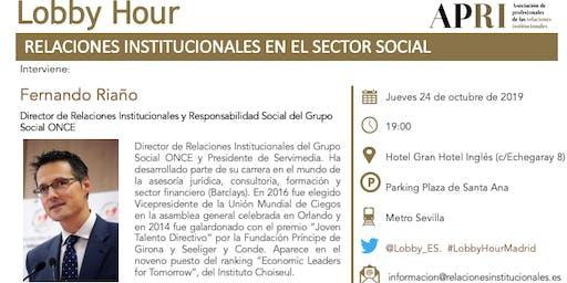 LOBBY HOUR: RELACIONES INSTITUCIONALES EN EL SECTOR SOCIAL
