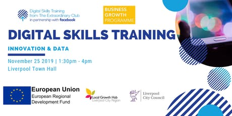 Digital Skills Training with Liverpool City Council tickets