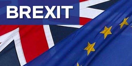 Petit-déjeuner au bureau de douane de Gennevilliers : anticipez le Brexit avec la Douane, en présence de la Députée Marie LEBEC billets