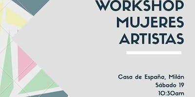Laboratorio artistico: mujeres artistas