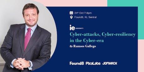Cyber-attacks, Cyber-resiliency in the Cyber-era tickets