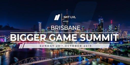 Brisbane Bigger Game Summit   Leadership and Human Performance
