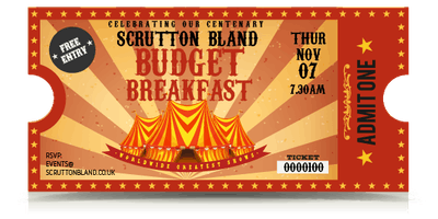 Budget Breakfast 2019