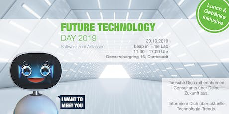 Future Technology Day 2019 – Software zum Anfassen tickets