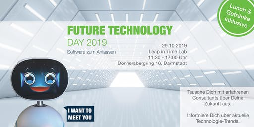 Future Technology Day 2019 – Software zum Anfassen