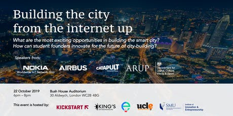 Building the city from the internet up tickets