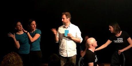 ZIMIHC IMPRO Comedy: Dogma tegen Iets Anders tickets
