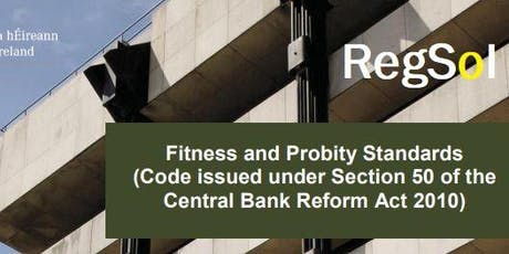 Fitness and Probity (inc. MCC) - Dublin tickets