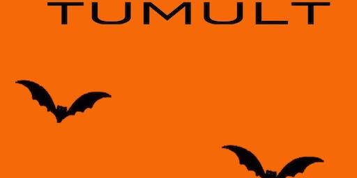 Fris met Halloween in Tumult