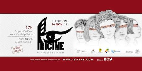 IBICINE · Proyección de cortometrajes finalistas entradas