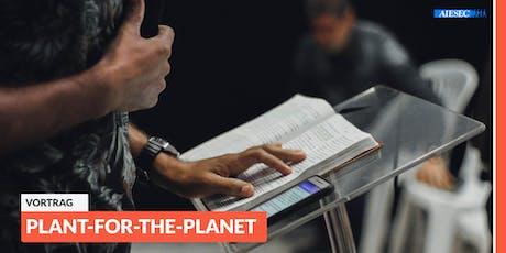 Vortrag eines Botschafters für Klimagerechtigkeit von Plant-for-the-Planet Tickets
