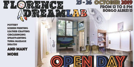 FLORENCE DREAMLAB OPEN DAYS tickets