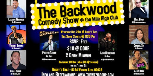 The Backwood Comedy Show