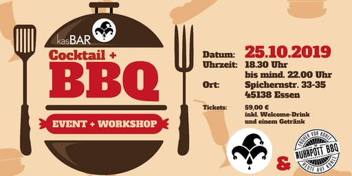 Cocktail und BBQ Event + Workshop
