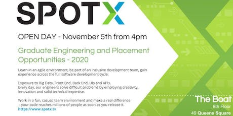 SpotX Belfast - Open Day for Placement and Graduate Students tickets