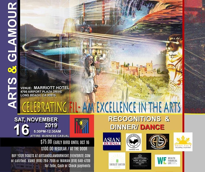 Arts and Glamour Night: Awards and Dinner-Dance image