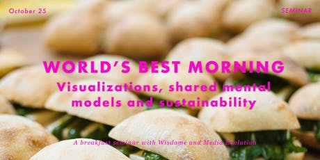 World's Best Morning: Visualizations shared mental models & sustainability tickets
