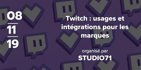 Twitch : usages et intégrations pour les marques billets