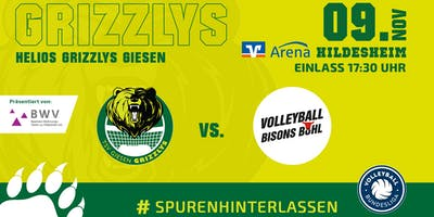 Helios GRIZZLYS vs. Volleyball Bisons Bühl