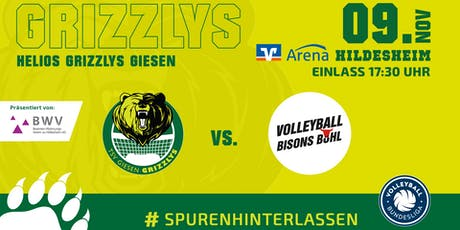 Helios GRIZZLYS vs. Volleyball Bisons Bühl Tickets