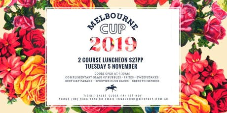Melbourne Cup - Two Course Luncheon tickets