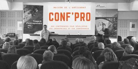 Conf'pro : L'Epuisement professionnel, le prévenir et l'accompagner billets