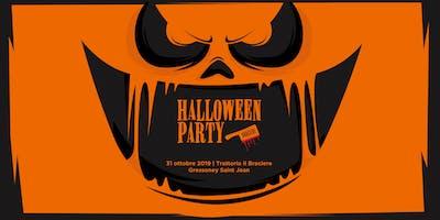 Halloween Party al Braciere - FREE CHUPITO