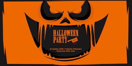 Halloween Party al Braciere - FREE CHUPITO biglietti