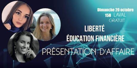 éducation et liberté financière billets