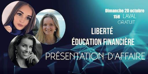 éducation et liberté financière