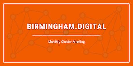 Birmingham Tech Cluster - Monthly Meeting tickets
