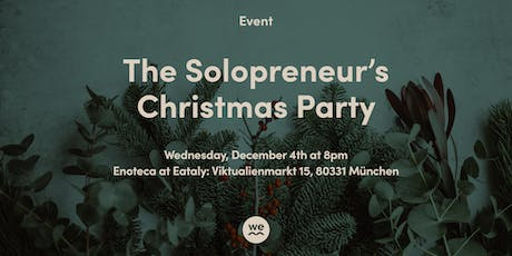 WEM - The Solopreneur's Christmas Party Tickets