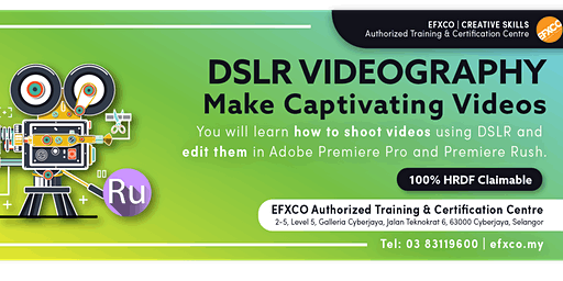 AUTHORISED TRAINING: DLSR & SMARTPHONE VIDEOGRAPHY