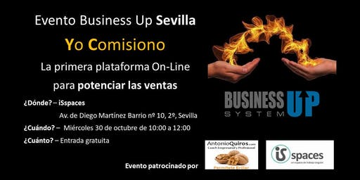 Evento Business Up SEVILLA (octubre)