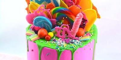 Colourful Drip Cake Class