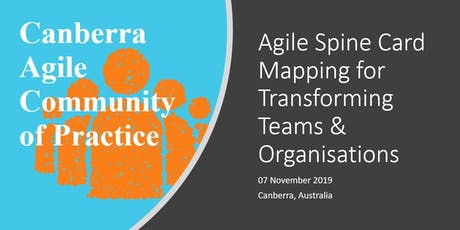Agile Spine Card Mapping for Transforming Teams & Organisations tickets