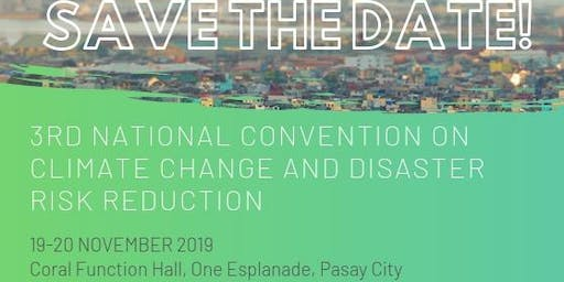 3rd National Convention on Climate Change Adaptation