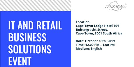 IT and Retail Business Solutions Event tickets