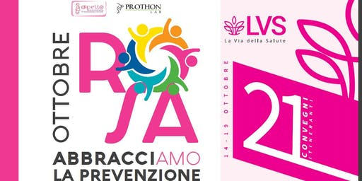 Ottobre Rosa - La Via della Salute - Convegno sabato 19 - SAN GIOVANNI IN PERSICETO