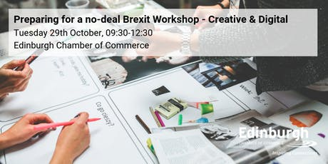 Prepare for a no-deal Brexit Workshop: Digital & Creative focus tickets