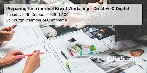 Prepare for a no-deal Brexit Workshop: Digital & Creative focus