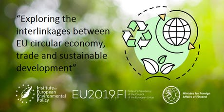 Trade, sustainable development and circular economy tickets