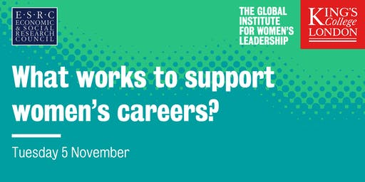 What works to support women's careers?