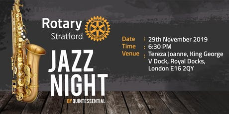 Rotary Strayford Jazz Night tickets
