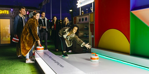 Curling, the Google Way at The Winter Carnival