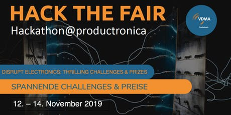 Hack the Fair HACKATHON @ PRODUCTRONICA Tickets