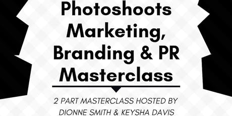 Photoshoot, Marketing, Branding & PR Masterclasses for Hairdressers tickets