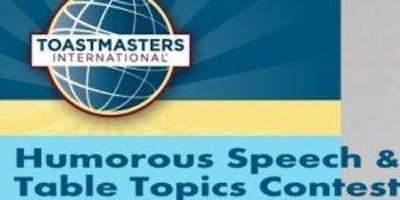 Area H15 Humorous & Table Topics Contest
