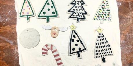 Sip & Create - Santa's Ceramic Sweatshop at Art Club tickets