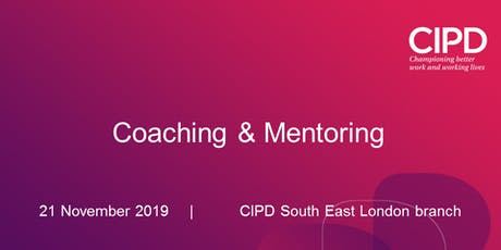 Coaching & Mentoring - Special Interest Group (SIG) tickets